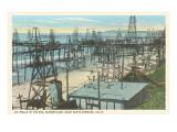 Oil Wells  Santa Barbara  California