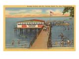 Starlight Pavilion and Pier  Fairview Beach  Virginia