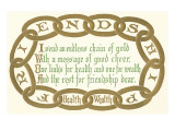 Chain of Friendship  Rhyme