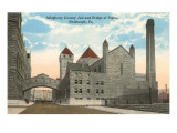 County Jail and Bridge of Sighs  Pittsburgh  Pennsylvania