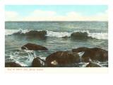 Surf at Watch Hill  Rhode Island