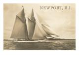 Gaff-Rigged Schooner  Newport  Rhode Island