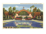 Botanical Building  Balboa Park  San Diego  California