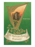 St Patricks Day  Harp and Blarney Castle