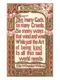Wilcox Exhortation to Kindness