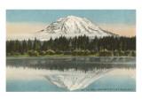 Mt Tacoma  Lake Spanaway  Washington