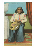 Chief Seattle with Basket
