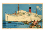Cunard White Star Ocean Liner  Franconia