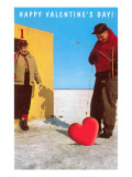 Happy Valentine's Day  Ice Fishing