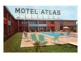 Motel Atlas  Vintage Motel