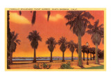 Cabrillo Boulevard  Santa Barbara  California