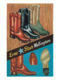 Boots  Lone Star Wellingtons