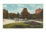Monroe Park  Richmond  Virginia
