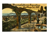 Panama-California Exposition  San Diego  California