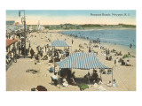 Beach at Newport  Rhode Island