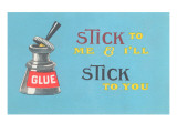 Stick to Me  Glue Pot