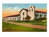 Santa Ynes Mission  Santa Barbara  California