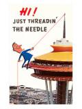 Just Threadin' the Needle  Seattle  Washington