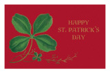 Happy St Patrick's Day  Shamrock