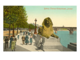 Sphinx  Thames Embankment  London  England
