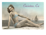 Encinitas  California  Bathing Beauty
