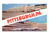 Airport Views  Pittsburgh  Pennsylvania