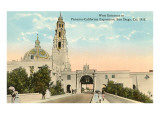 Entrance to 1915 Exposition Grounds  San Diego  California
