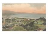 Early Overview of Santa Barbara  California