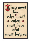 Enjoy  Love  Forgive