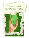 Green Beer for St Patrick&#39;s Day