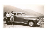 Couple Vacationing in the Forties