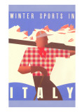 Winter Sports in Italy  Graphics
