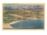 Overview of Santa Barbara  California