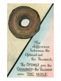 Difference between Optimist and Pessimist