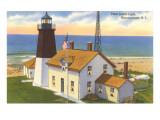 Pt Judith Lighthouse  Narragansett  Rhode Island
