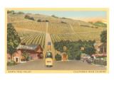 Santa Ynez Valley Wine Country  California