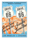 Drive US 66 Signs