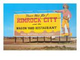 Billboard for Rimrock City