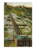 Duquesne Inlined Railway  Pittsburgh  Pennsylvania