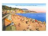 Beach at Nice  France