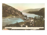 Potomac and Shenandoah Rivers  Harper's Ferry  West Virginia