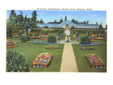 Municipal Greenhouses  Spokane  Washington