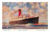 Cunard Lancastria  Ocean Liner