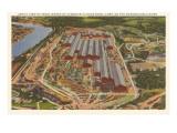 Carnegie-Illinois Steel Mill  Pittsburgh  Pennsylvania