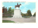 Stonewall Jackson Monument  Richmond  Virginia