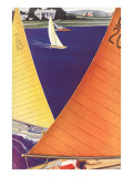 Yacht Race  Graphics