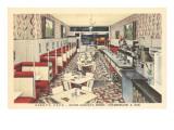 Derby's Cafe  Interior  Retro