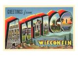 Greetings from Antigo  Wisconsin