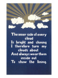 Inspirational Cloud Poem