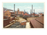 Steel Works  Pittsburgh  Pennsylvania